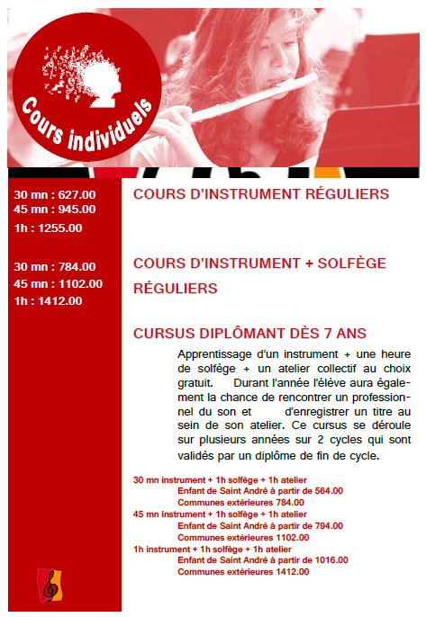 cours individuels